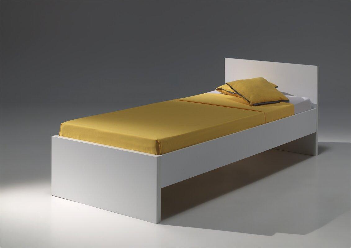 milan european single bed frame - European Bed Frame