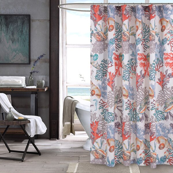 Atlantis Shower Curtain by Barefoot Bungalow