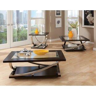 Affordable Torsten 3 Piece Coffee Table Set ByOrren Ellis
