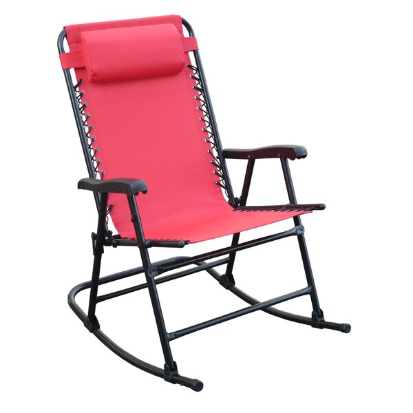Doyden-Davis Folding Rocking Chair by Red Barrel Studio