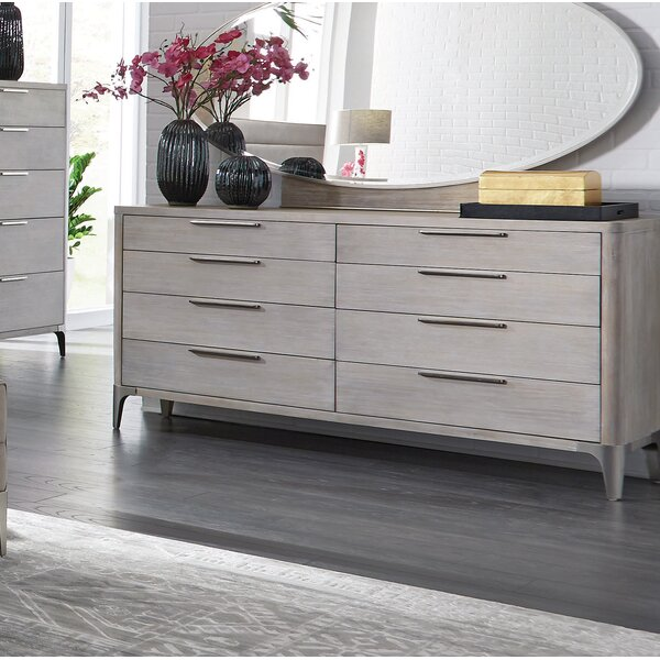 Anadarko 8 Drawer Double Dresser By Ivy Bronx by Ivy Bronx 2020 Sale