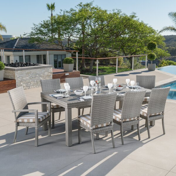 Castelli 9 Piece Dining Set by Wade Logan