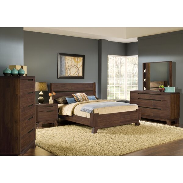 Damiani Platform Configurable Bedroom Set by Brayden Studio