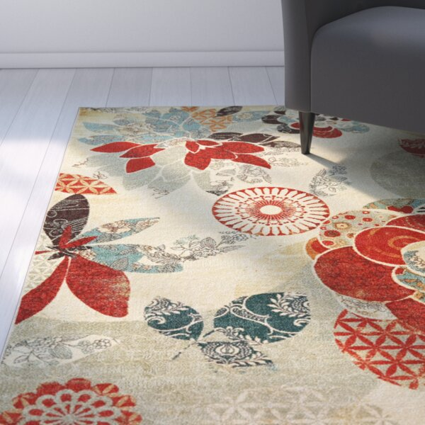 Freeburg Red Area Rug by Andover Mills