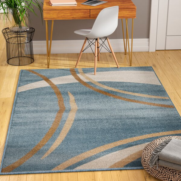 Penny Blue Area Rug by Zipcode Design