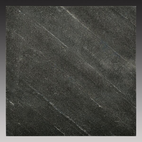 6 x 6 Slate Peel & Stick Field Tile in Black Line by FastStone+