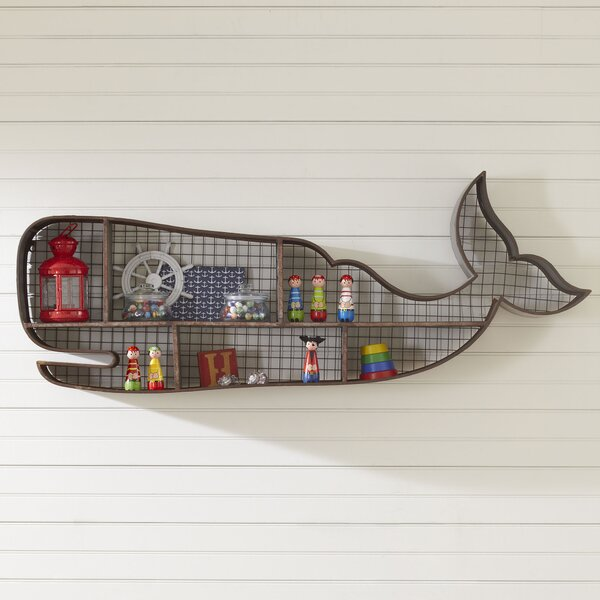 Whale Wall Cubby by Birch Lane Kids™