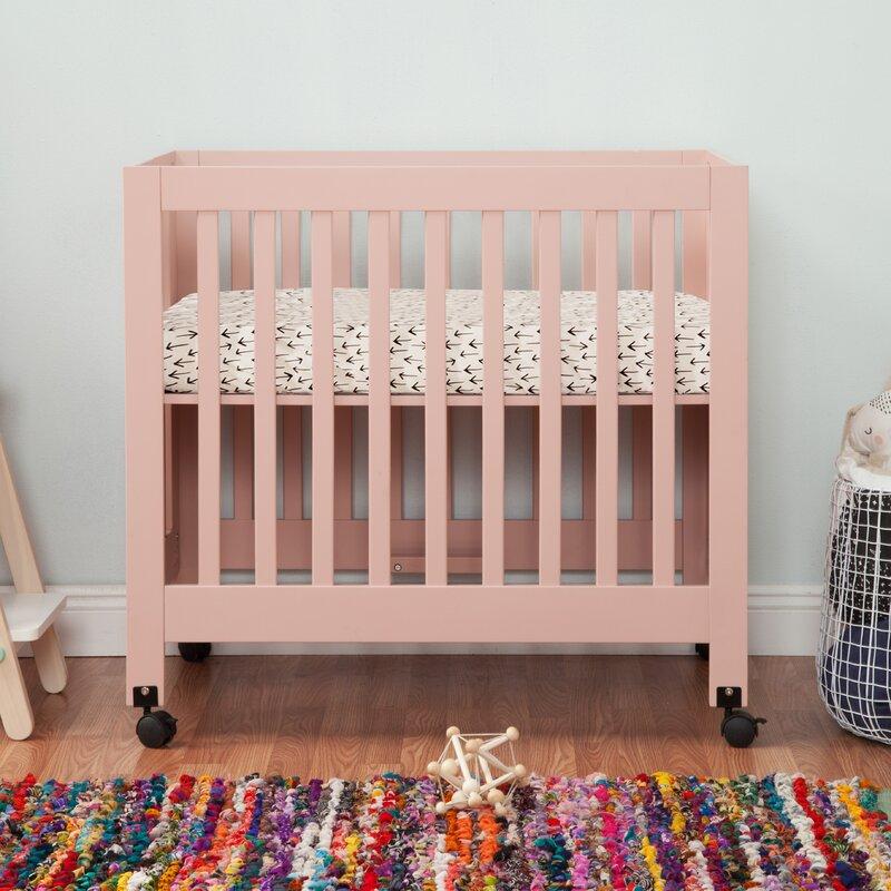 Babyletto Origami Mini Baby Crib | Pottery Barn Kids | 800x800