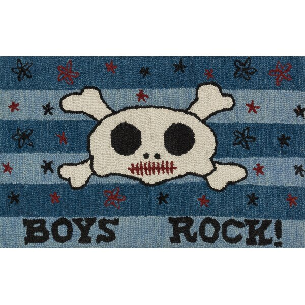 Jimerson Blue Area Rug by Zoomie Kids