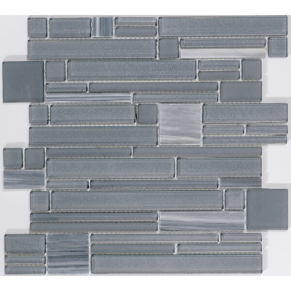 Entity Mixed Material Mosaic Tile in Zest by Emser Tile