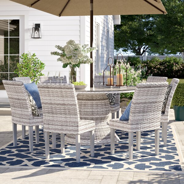 Falmouth 9 Piece Outdoor Dining Set By Sol 72 Outdoor