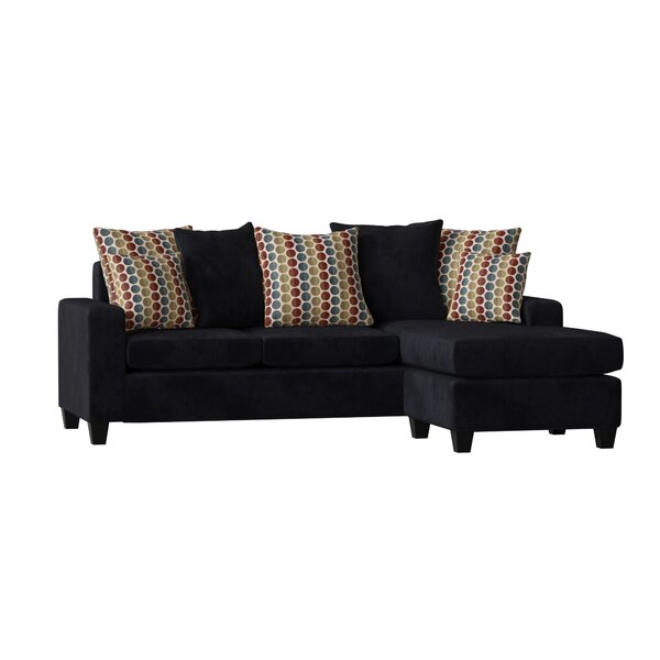 Trendy Modern Laurie Reversible Sectional by Latitude Run by Latitude Run