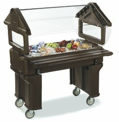 "Six Starâ""¢ Bar Cart by Carlisle Food Service Products"