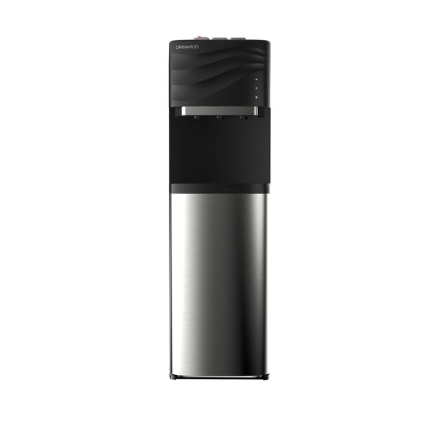 100 Series Bottleless Free-Standing Hot, Cold, and Room Temperature Electric Water Cooler by Drinkpod USA