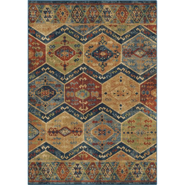 Marvin Blue/Beige Area Rug by Loon Peak