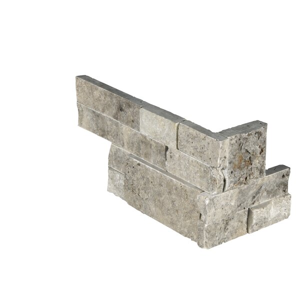 6 x 18 Travertine Tile in Gray/Beige by MSI