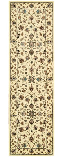 Ellerswick Hand Woven Wool Beige Indoor Area Rug by Darby Home Co