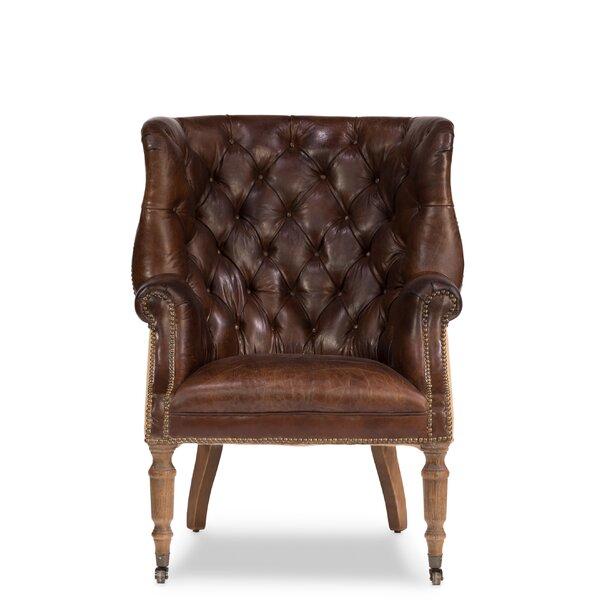 Welsh Wingback Chair by Sarreid Ltd