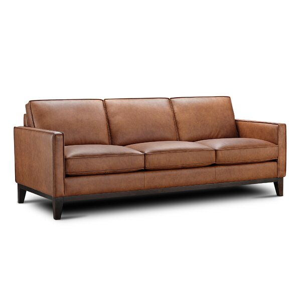 Whitson Leather Sofa By Foundry Select