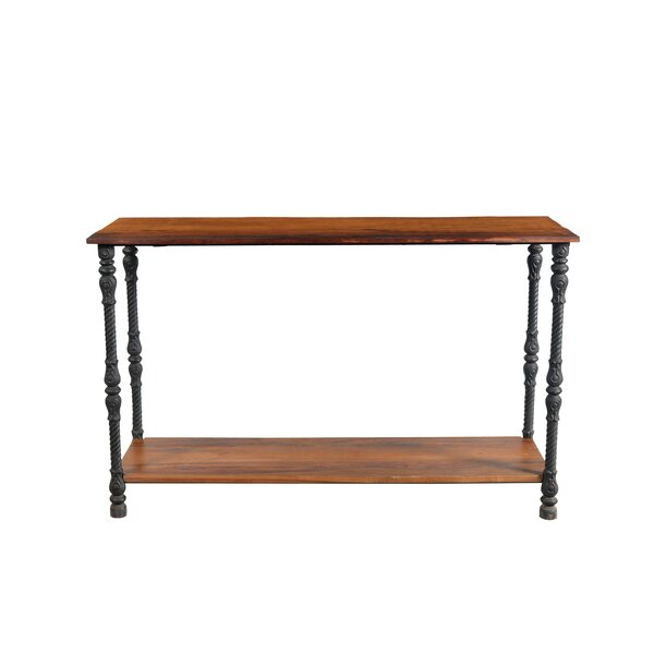 Ifra Iron Leg Console Table By 17 Stories