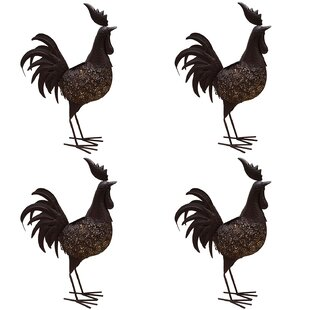 Where buy  Hammer Rooster 3 Light LED Pathway Light (Set of 4) (Set of 4) By Oakland Living