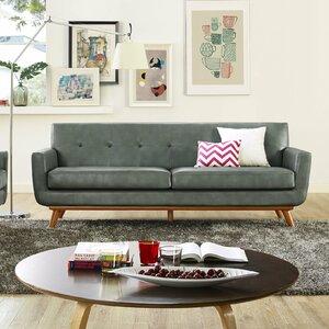 Huntsville Leather Sofa by Corrigan Studio