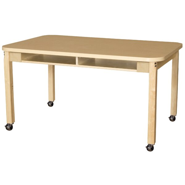 Manufactured Wood 20 Multi-Student Desk by Wood Designs