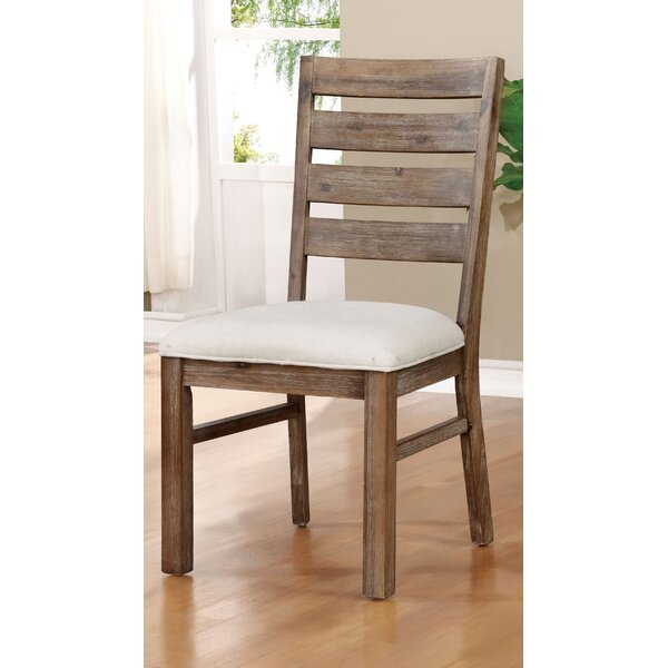 Grenadille Upholstered Dining Chair (Set of 2) by August Grove
