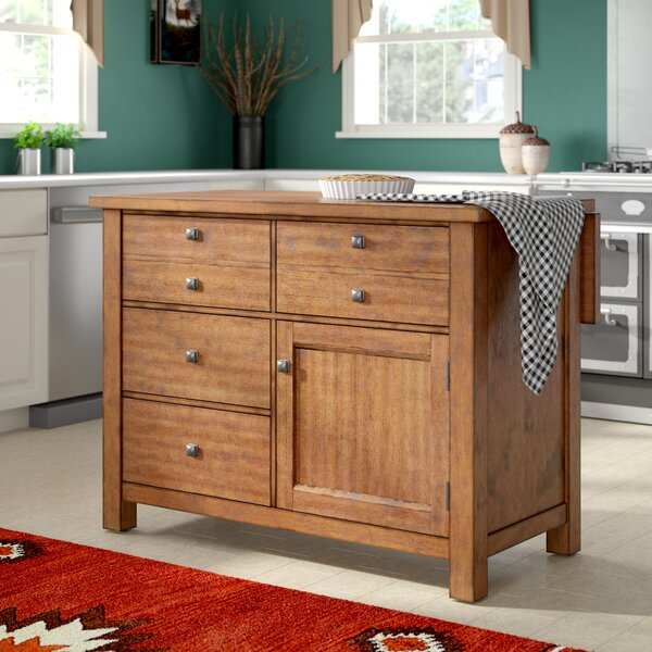 Rotherham Kitchen Island by Three Posts