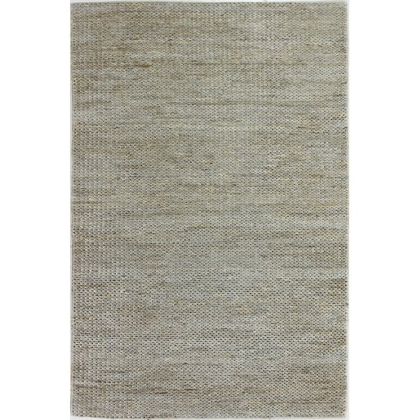Deklan Hand-Woven Grey Area Rug by Bungalow Rose