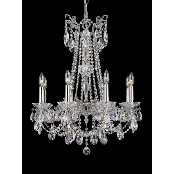 Sobieski 8-Light Candle Style Empire Chandelier by Astoria Grand Astoria Grand
