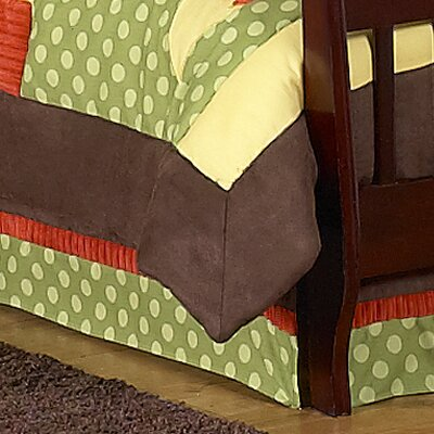 Forest Friends Toddler Bed Skirt by Sweet Jojo Designs