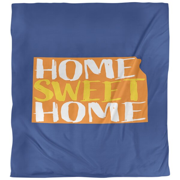Kansas Home Sweet Single Duvet Cover