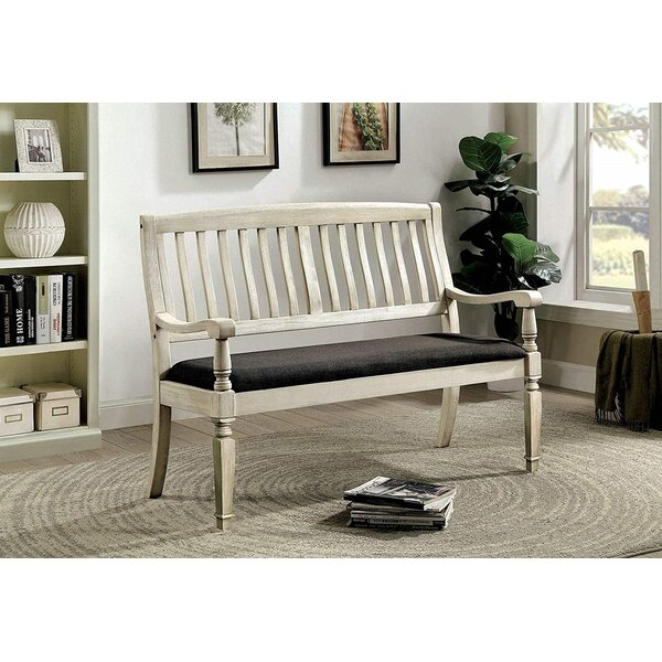 Will Solid Wood Bench By Rosalind Wheeler