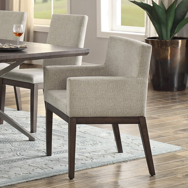 Penelope Dining Chair with Arms (Set of 2) by Foundry Select