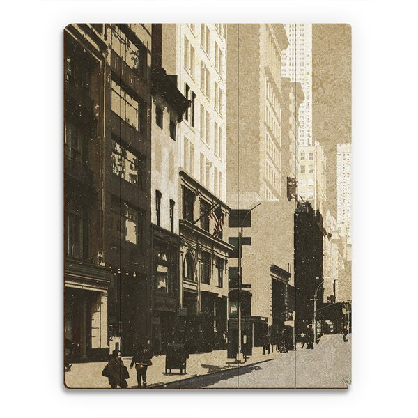 CityStreets Graphic Art on Canvas by Click Wall Art
