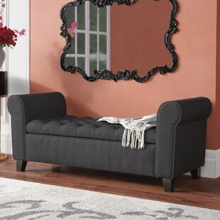 Read Reviews Havelock Upholstered Storage Bench By House of Hampton