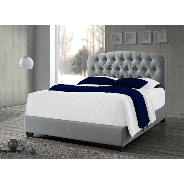 Fredela Tufted Upholstered Platform Bed by Andover Mills