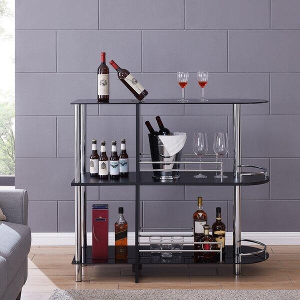 Darrel Bar with Wine Storage by Orren Ellis