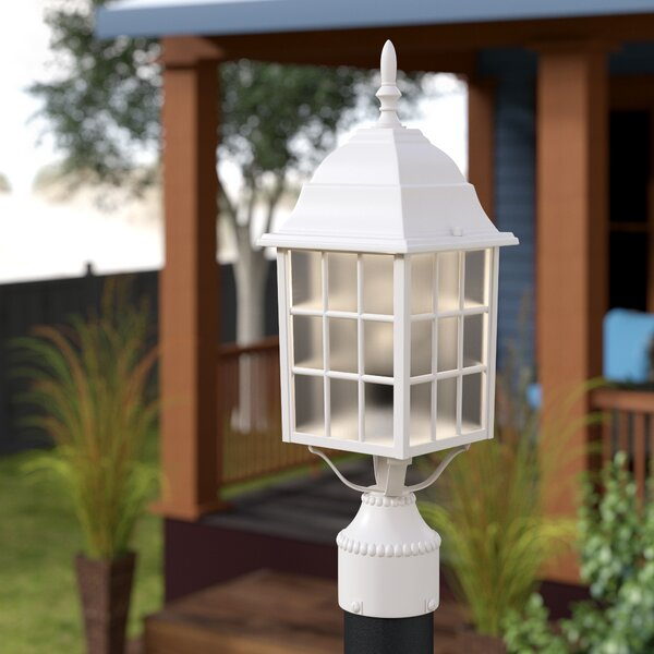 Belfield Outdoor 1-Light Lantern Head by Breakwater Bay