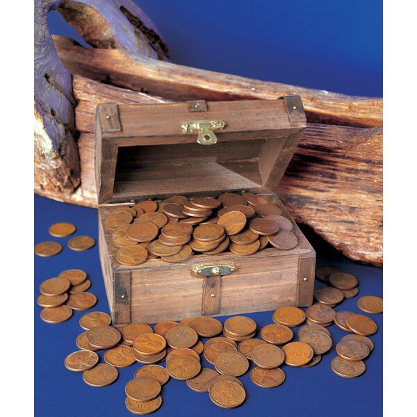 Lincoln Wheat Ear Pennies Treasure Chest by American Coin Treasures