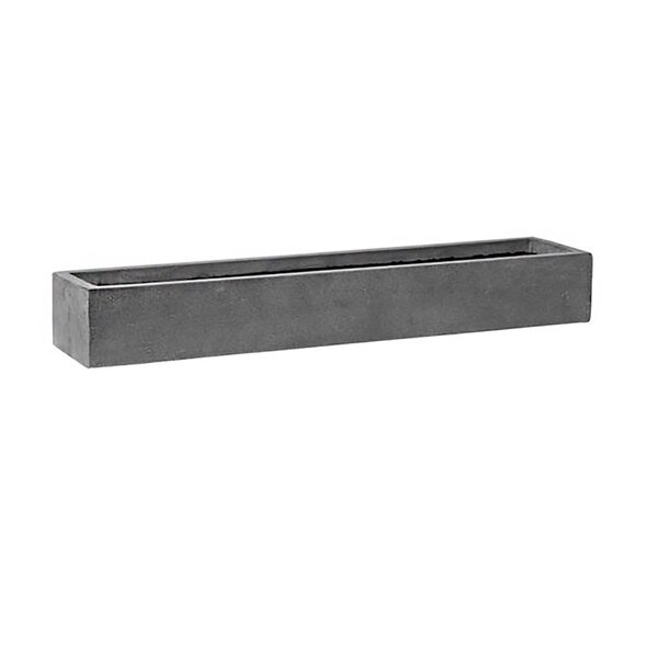 Drumheller Rectangular Garden Stone Planter Box by Williston Forge