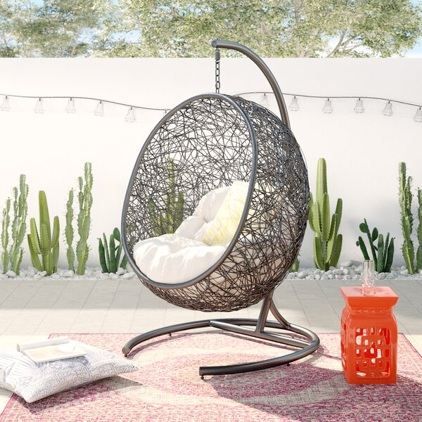 Herculaneum Encase Swing Chair With Stand By Bungalow Rose
