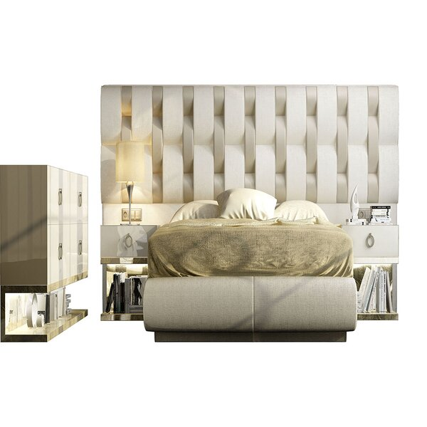 Jerri King 5 Piece Bedroom Set by Everly Quinn