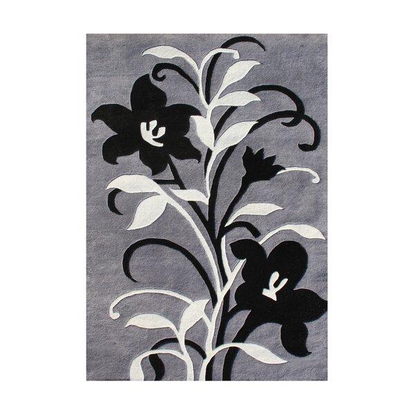 Pondosa Hand-Tufted Gray Area Rug by The Conestoga Trading Co.