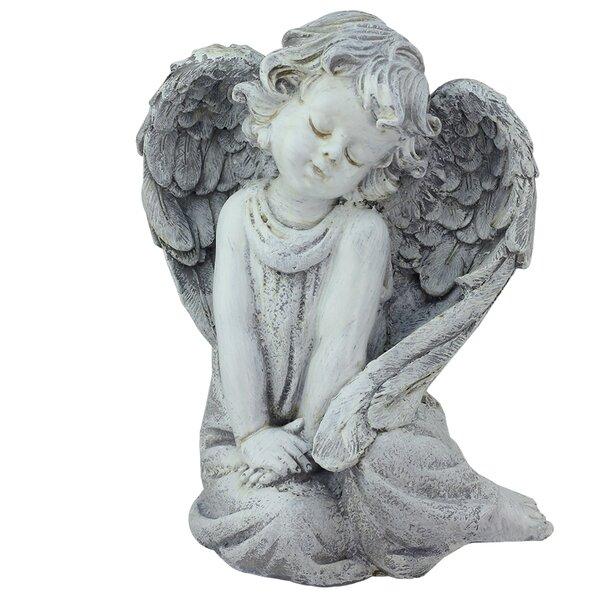 Sitting Cherub Angel Outdoor Patio Garden Statue by Northlight Seasonal