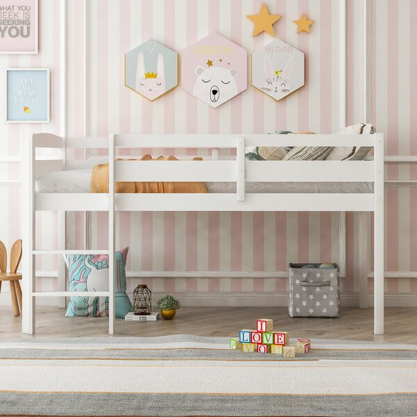Abeilles Kids Twin Low Loft Bed by Harriet Bee Harriet Bee