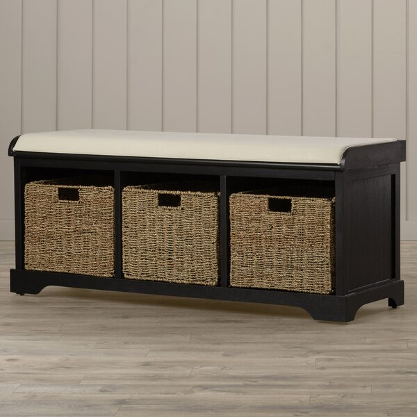 Seminole Upholstered Storage Bench by Beachcrest Home