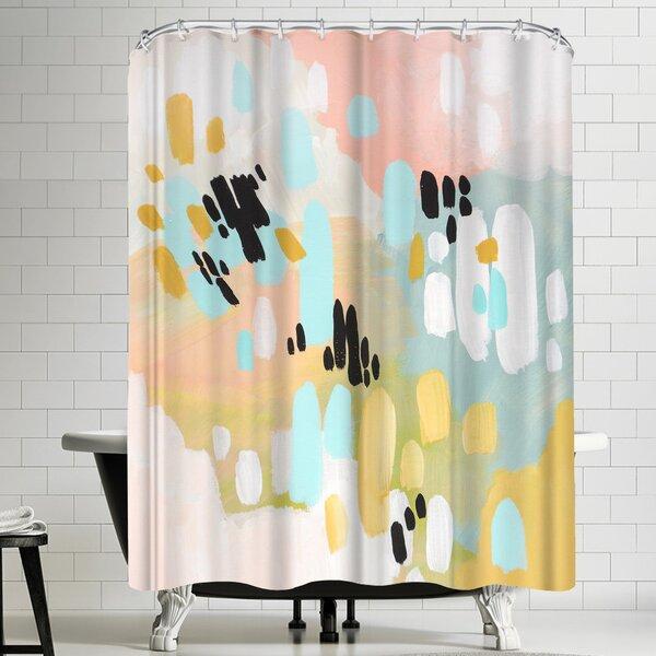 Annie Bailey Deep In My Heart Shower Curtain by East Urban Home