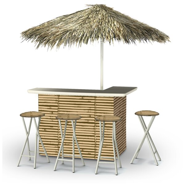 Waller Tiki Bar Set by Bayou Breeze